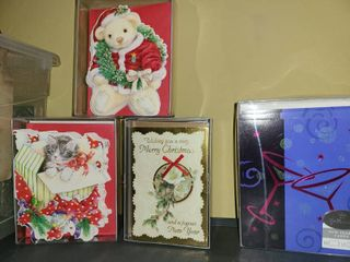 CHRISTMAS CARDS and 1 Box of NEW YEARS DAY CARDS