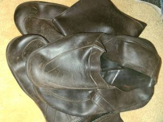 Mens Rubber Shoes  Go over your regular shoes  Size large