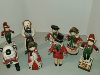 House of Hatton wooden figurines