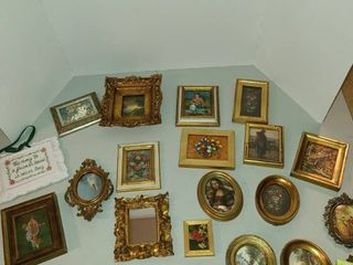 Assorted small frames
