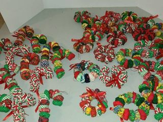 Soft Christmas ornaments