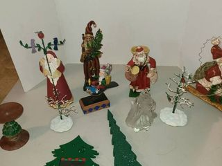 Assorted Christmas decor
