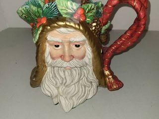FITZ AND FlOYD Santa Clause Tea Pot