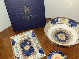3 Pc  ROYAl WORCESTER Porcelain  THE MIllENNIUM Series