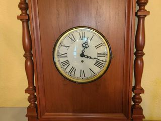 Colonial Wall Clock  13 x 18 5 x 2