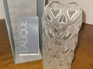 lAlIQUE Heart Shaped Vase