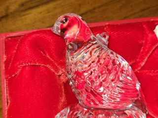 WATERFORD Crystal Quail