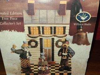 A Country Carol  5 pc Set