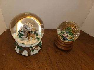 FITZ AND FlOYD Musical Snow Globes
