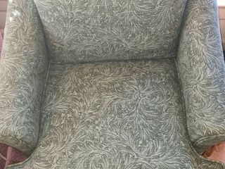 Green leaf Pattern Chair
