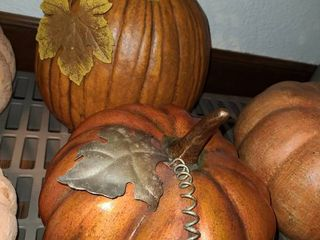 Pumpkin Decor lot of 2
