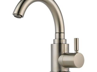 Brizo 61320lF SS Euro Bar Faucet Single Handle Cold Water Only  Stainless Steel