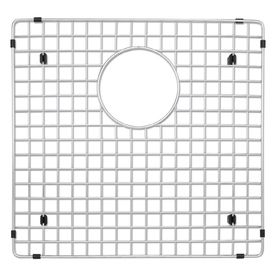 Blanco 223190 Stainless Steel Sink Grid  Fits Precision and Precision 10 1 3 4 Bowl left bowl  Stainless Steel