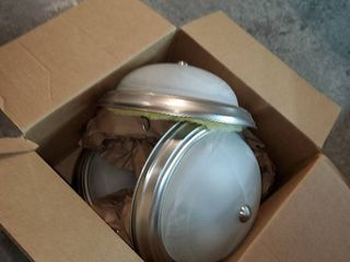 lot of Misc Ceiling Mount light Fixtures
