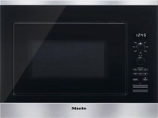Miele 24  Pureline Stainless Steel Built In Microwave Oven