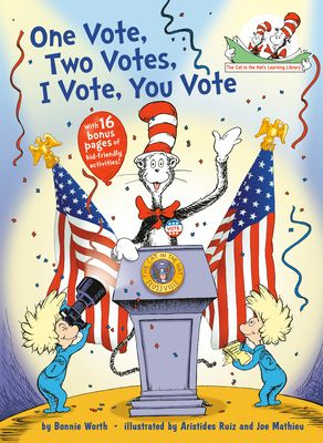 One Vote  Two Votes  I Vote  You Vote   by Bonnie Worth  Hardcover  RETAIl  9 99