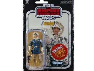 Star Wars Retro Collection Han Solo  Hoth  Toy Action Figure RETAIl 39 99