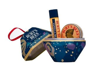 Burt s Bees 2 pc  Bit of Burt s Vanilla Bean Tin Ornament Gift Set   Clear   Burt s Bees RETAIl  4 99