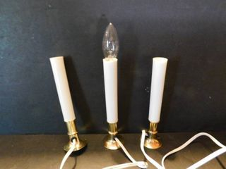 Set of 3 Electric Candles  9