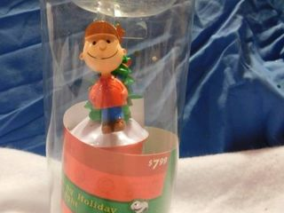 Glittery Charlie Brown Holiday Night lIght