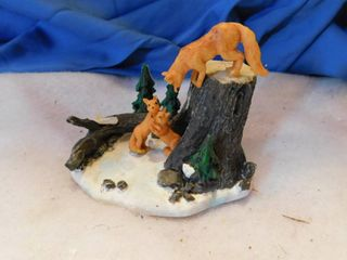 Woods   Foxes Holiday Village Accent