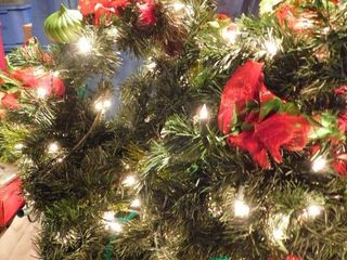 Decorated   lighted Garland