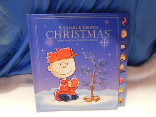 Charlie Brown Christmas Interactive Book