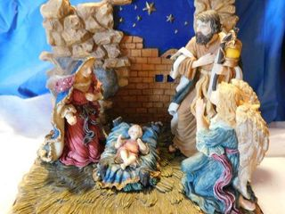 Heavy All In One Nativity Set
