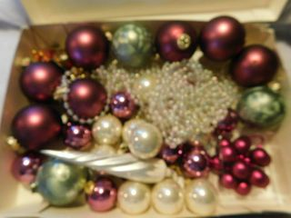 Box Full of Ornaments   Beads