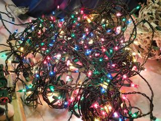 Multi Colored lights  4 Strands