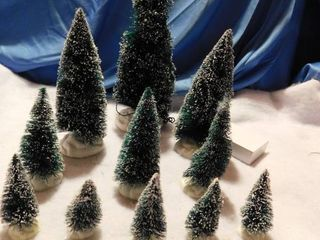 Town Display Evergreen Trees  11 ea