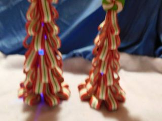 Candy looking Trees  2 ea