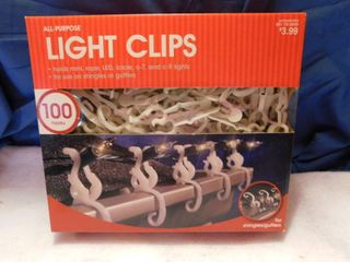 Chirstmas light Clips  NEW 100 count
