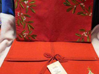 Christmas Placemats  2 Sets