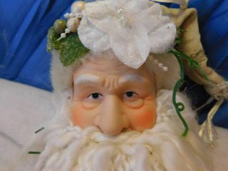 Collector Santa Claus with Porcelain Face