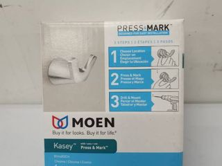 Moen double Robe Hook Bh4603ch Chrome