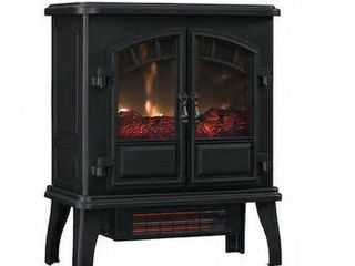 Electric Stove 5200 Btu Black Metal Infrared Quartz Thermostat Portable Unit