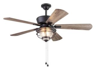 Harbor Breeze Merrimack Ii 52 in Matte Bronze led Indoor outdoor Ceiling Fan