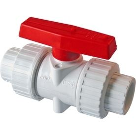 American Valve P200U 40 1 2 in PVC True Union Ball Valve  1 2 Inch