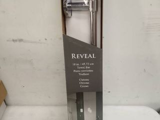 Gatco Reveal 18 in Towel Bar In Chrome Reveal 4661