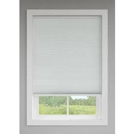 levolor Room Darkening Cordless Cellular Shades 36 x72  in Snow White 0059314