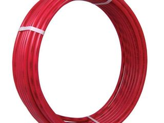 SharkBite U860R50 1 2 Inch 50 Feet Coil Red PEX Tubing