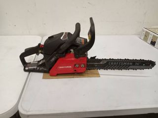 Craftsman 14in s145 42cc chainsaw