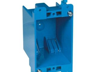 Gang Old Work Box  Non Metallic Switch and Outlet Box  14 Cubic Inches