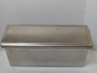 Architectural Mailboxes Venice Stainless Steel Wall Mount Mailbox  7 13  H A 14 65  W  4 21  D