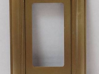 Allen roth Cosgrove 3 gang Antique Brass Triple Toggle Wall Plate   2pc 1 Gang