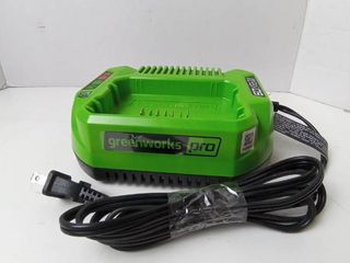 Greenworks Pro 60 Volt lithium Max Charging station ONlY