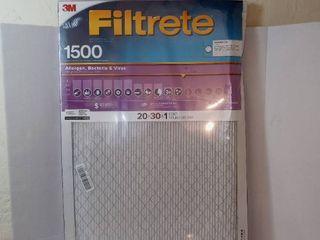 Air Filter by Filtrete 1500MPR Allergen  Bacteria   Virus  20  A 30  A 1