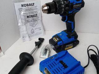 Kobalt Brushless Drill Driver Kit with Charger