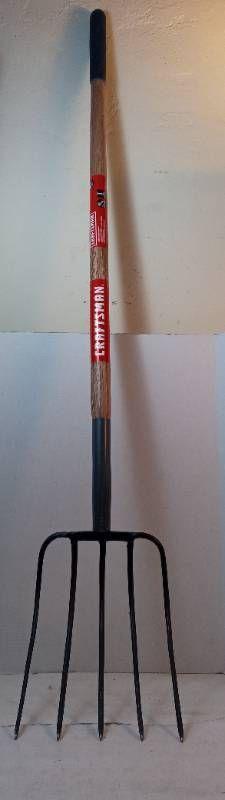 Craftsman Wood Handle Manure Fork